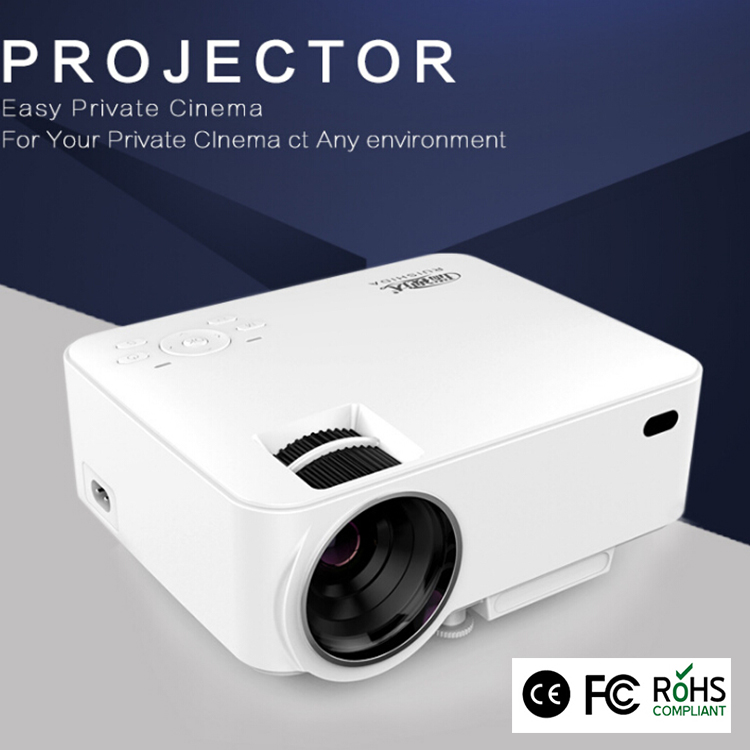 2017 hot selling T20 Cheap portable led home full hd projector