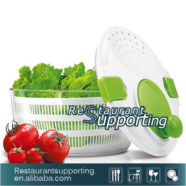 Plastic Manual Vegetables Fruit Salad Spinner