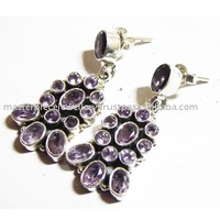 Genuine Smoky Quartz 925 Sterling Silver Gemstone Pendant, 925 Sterling Silver Jewelry Wholesaler, India Fashion Silver Jewelry