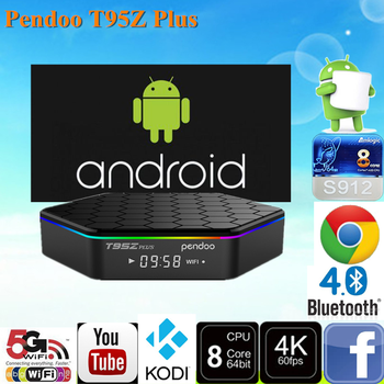 2017 Factory Price Pendoo T95z Plus S912 2g 16g 8k Android Tv Box China Ad  Player Tv Box - Buy 8k Android Tv Box,8 Core Tv Box,4k Ultra Hd Video