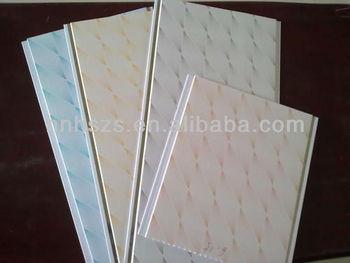 Plafondplaten Badkamer Kunststof : Composiet decoratieve verlaagde plafond pvc kunststof dakpanelen