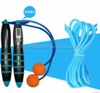 Professional Multifunctional Calorie Cordless Digital Counter PVC Crossfit Jump Rope with a Rope