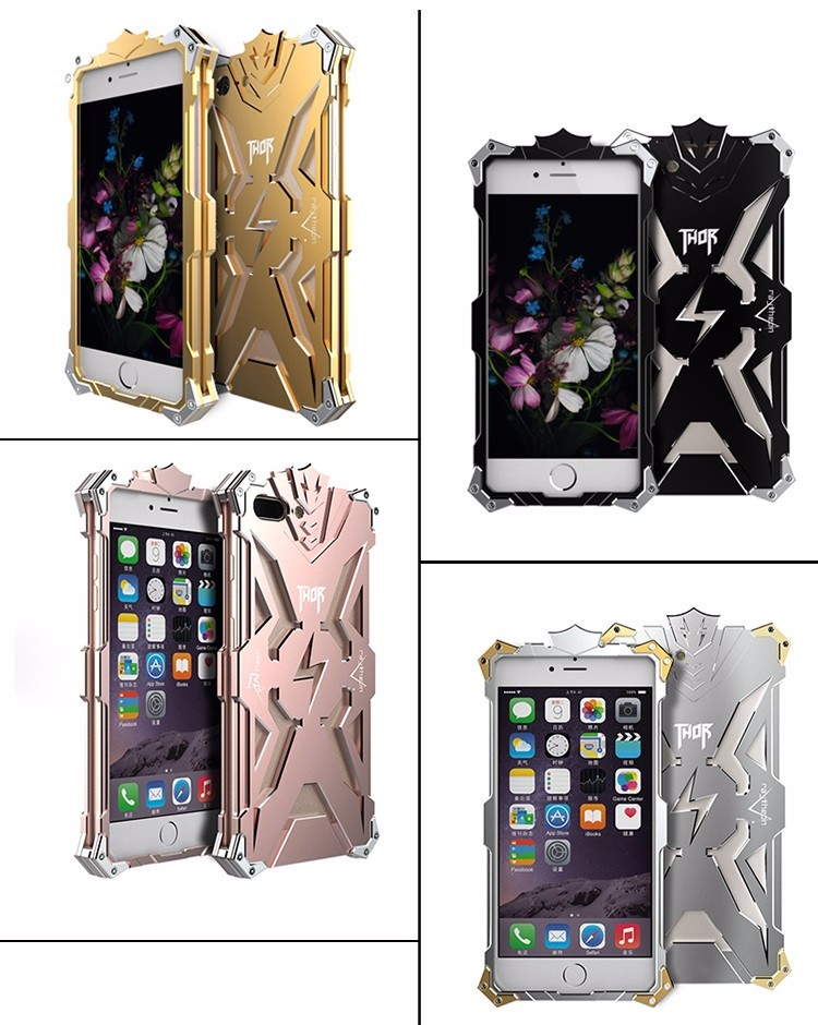 2017 new design for Iphone 7 case ultra thin aviation aluminum mobile phone case