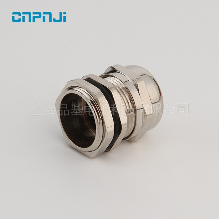CE IP68 ROHS Flexible Cable Glands Size M22 With 304 316 Stainless Steel