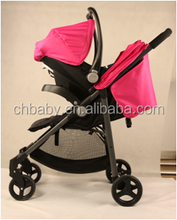stainless frame material baby stroller 2 in 1