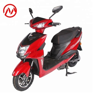 Wholesale Custom 72V 1200w Electric Motorcycle Scooter with pedals for Sale