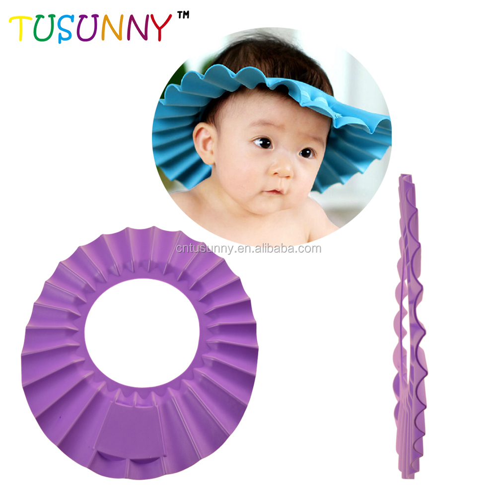 new baby product 2019 soft baby safety shampoo cap baby shower cap