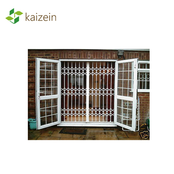 Sliding door iron wall grilles decorative