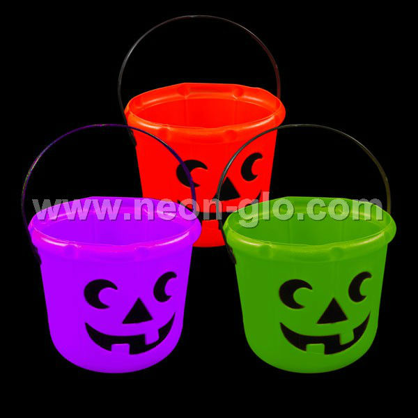 Halloween Party Celebration Treat or Trick Smile Ghost Backet