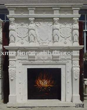 marble natural fireplace parts