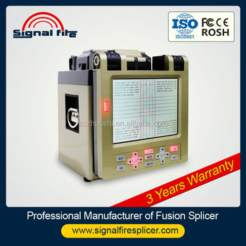 Fiber Optic Splicing Machine / Fiber Optical Fusion Splicer ...