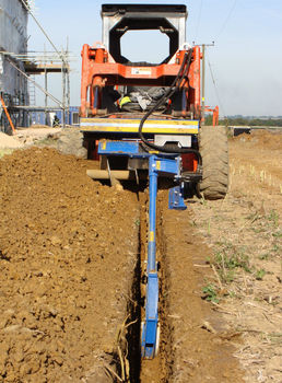 Trencher Ditch Trencher Trench Excavator Machine Different