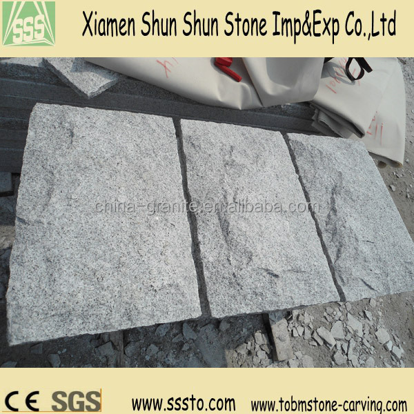 hot sale grey irregular wall cap stone/mushroom stone