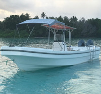 Gather 32ft fiberglass fishing boat for sale