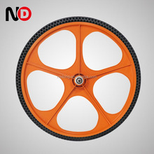 whole sale 5 Spokes 24*1.5 Inch bicycle wheel covers plastic