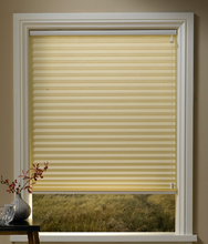 classical style of Pleated blinds fabric curtains pull cord system