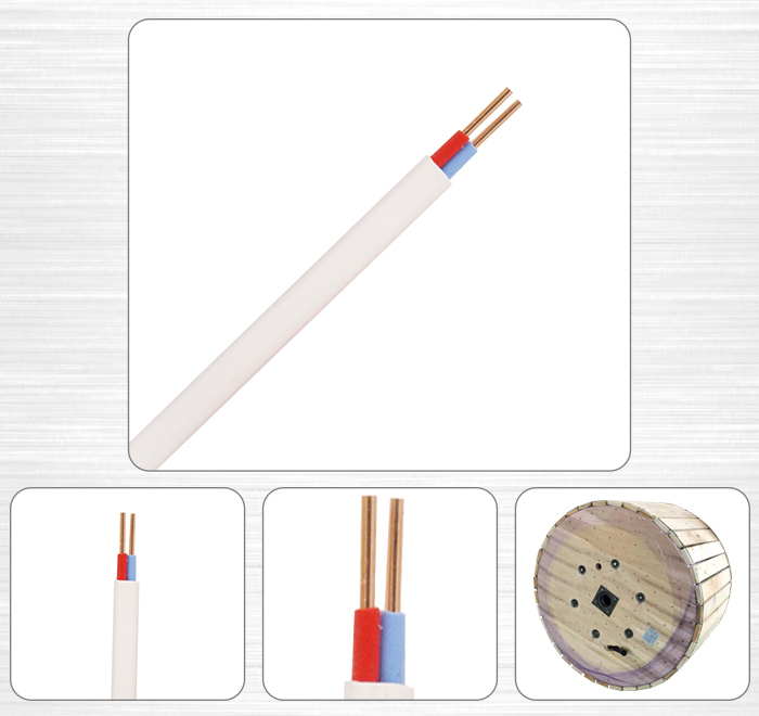 Triple insulated electrical aluminium heating wire