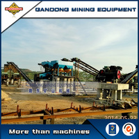 High performance alluvial gold gravity processing plant supplier