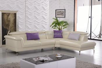 Great 2015 New Arrival Living Room Modern L Shape Latest Corner Sofa Design
