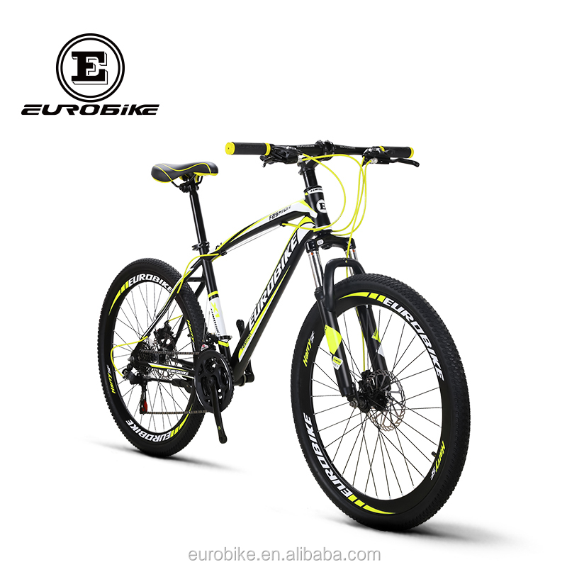 Eurobike Mountain Bike 26*17 inches MTB 21 speed Dual Disc Brake MTB <strong>Bicycle</strong>