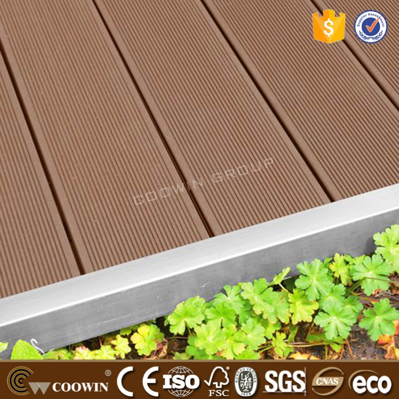 Decades professional brand wood plastic composite decking for Composite decking brands