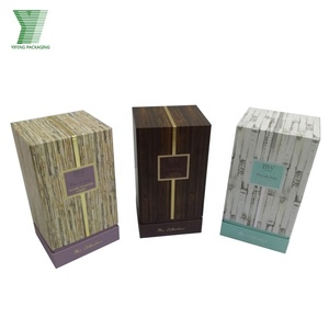 Wholesale OEM essemtial oil bottle packaging candle box cardboard insert