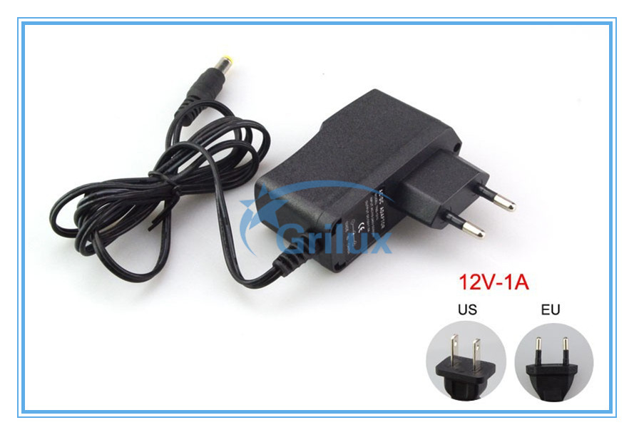 full power 12V/24V 1A to 15A adapter US EU UK AU plug cable made in PRC
