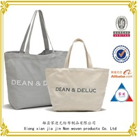 china wholesale printed your logo canvas bag ,