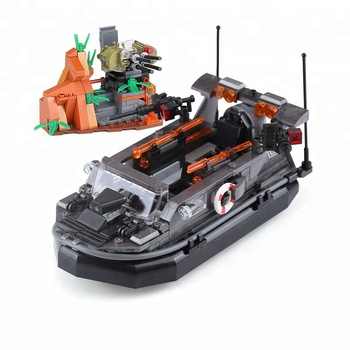 XingBao Genuine Military Series The Assault Boat Set Building Blocks Bricks Educational Toys Model Gift For Kids