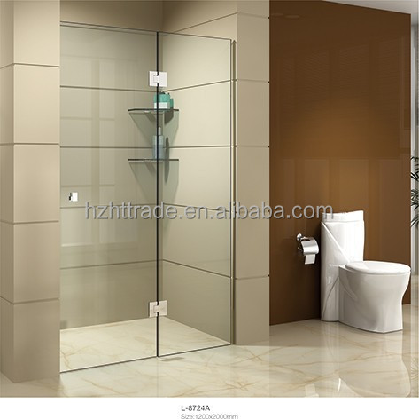 pivot door 180 degree high quality hinge shower door frameless