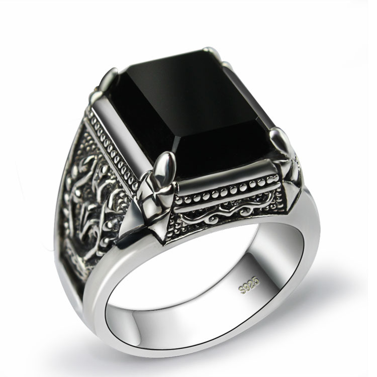 Cheap Mens Ring Black Stone, find Mens Ring Black Stone deals on ...