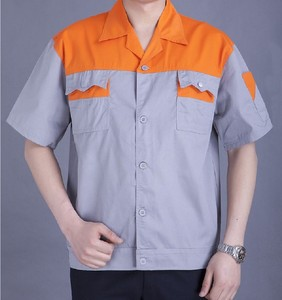 Cheap wholesale design your own factory engineering wear uniform work shirts