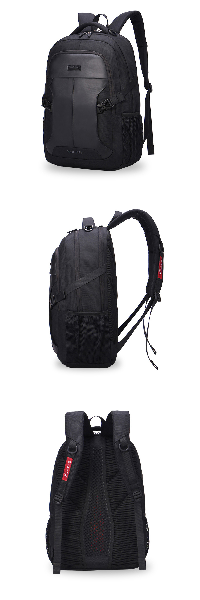 Aoking 2016 backpack New Patent Design Massage Air Cushion Men s Laptop  Backpack Men Large Capacity Comfort 69f985e542
