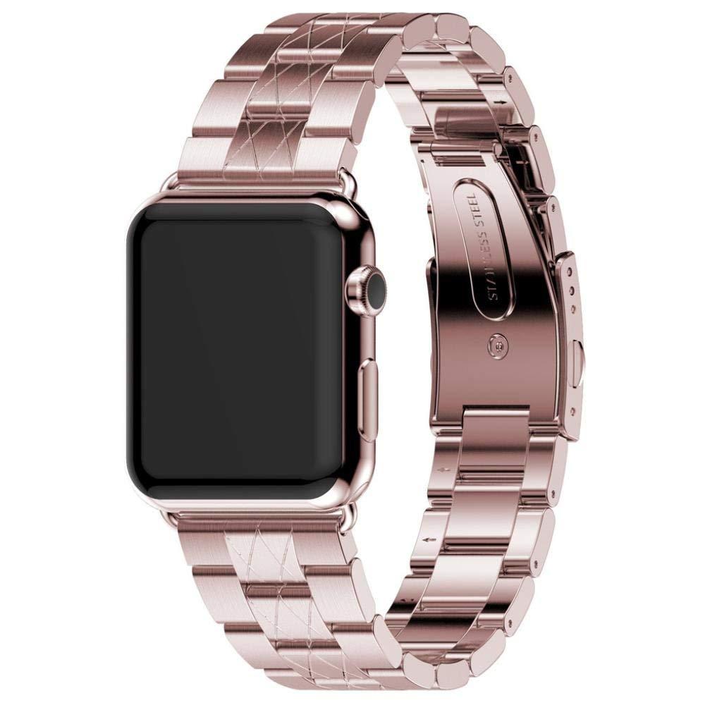 For Watch Apple Watch 38mm, Sunfei Genuine Stainless Steel Bracelet Smart Watch Band Strap