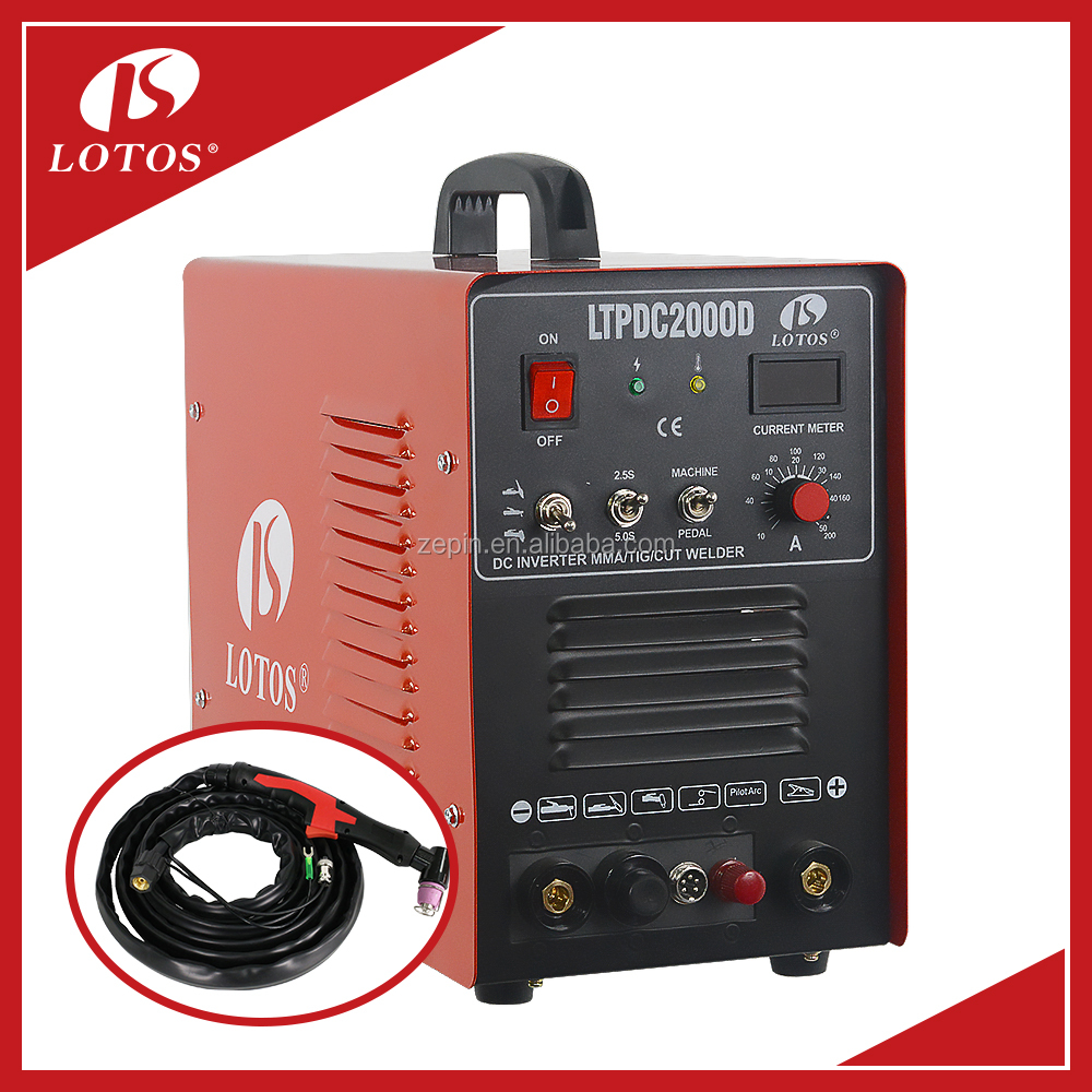 lotos LTPDC2000D 110/220V single phase arc welding jobs high frequency welding machine