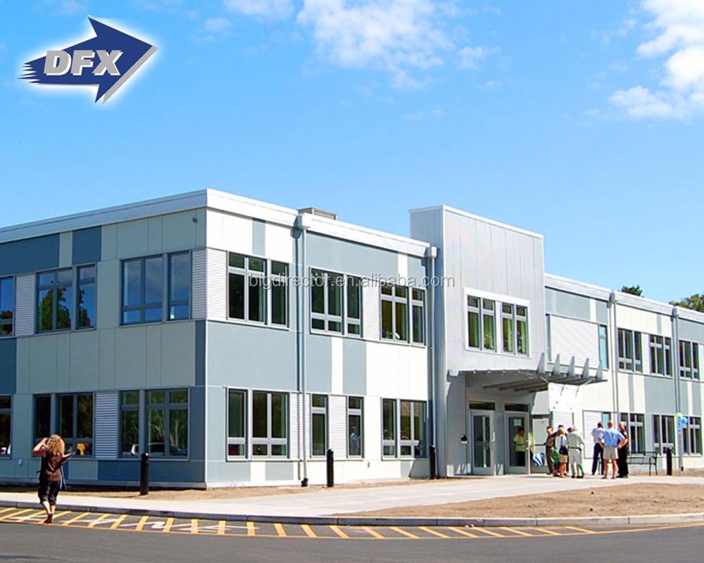 Prefabricada de bajo costo prefabricados de estructura de acero de la escuela de los proyectos de construcción
