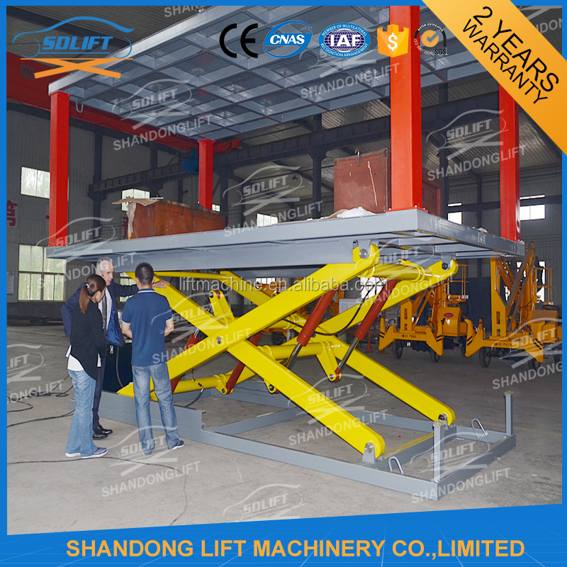 car scissor lift / used car lifts for sale