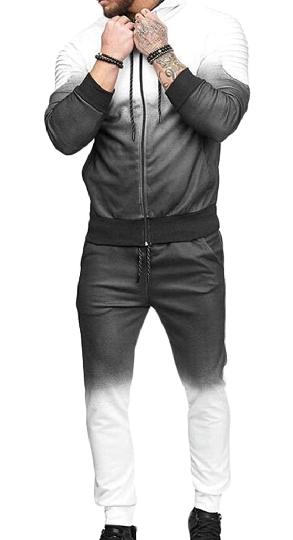 CBTLVSN Womens Sweatshirt and Pants 2 Piece Sports Joggers Jog Set