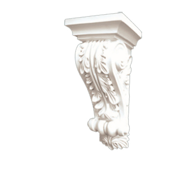 High quality polyurethane moulding HD-C01333 Small Size PU Beam Corbels and Brackets