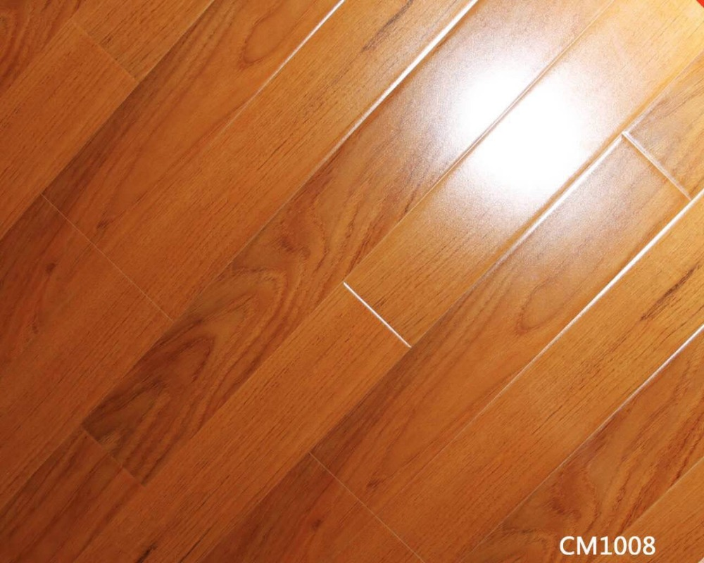 Premium waterproof deep embossed 8mm 12mm laminate wood flooring