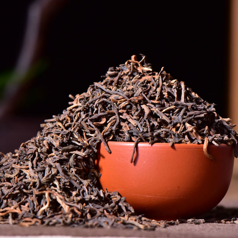 High Quality Yunnan Menghai Puer loose Pu erh Tea Yunnan Ripe Tea