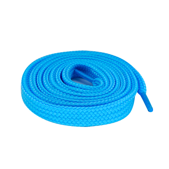 Eco-friendly Shoe Laces Packaging Novelty Blue Tube Shoelaces