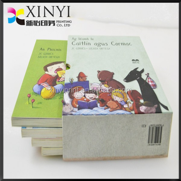 cheap custom board book children story book printing on demand
