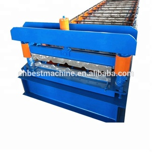 High Rib Steel Roofing Sheet Profiling Roll Forming Machine