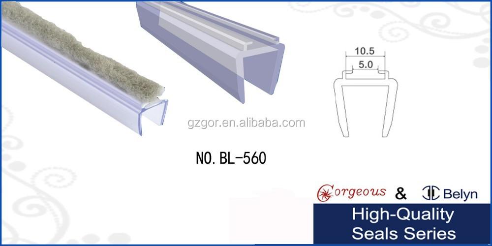 Manufcture Strip Brush For Doorglass Shower Seal Buy Strip Brush