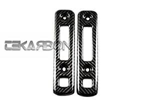 2011 - 2013 Yamaha FZ8 Carbon Fiber Radiator Covers