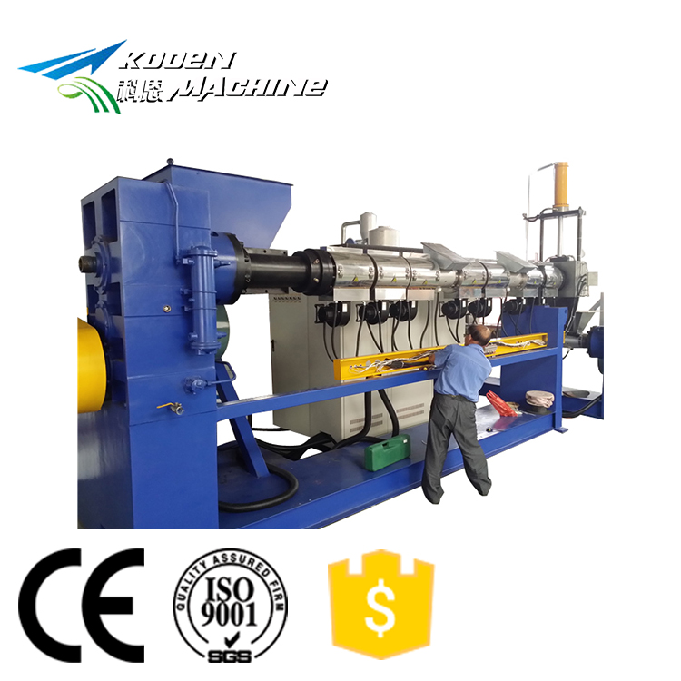 PP PE plastic recycle korrel making machine