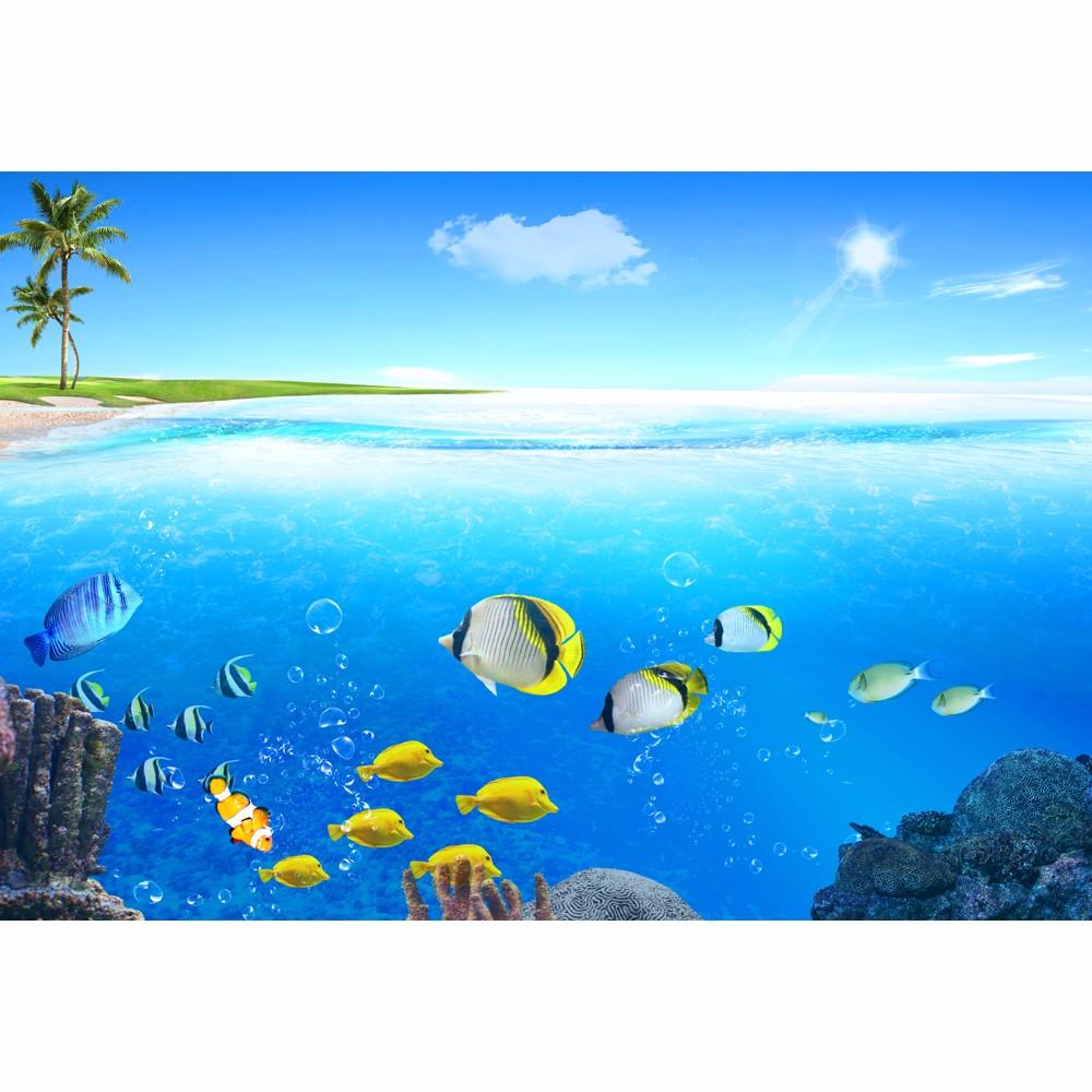 Dunia Bawah Laut Hewan Ikan Wallpaper Mural Untuk Kamar Anak Anak Dinding Buy Bawah Air Dunia Wallpaper Mural Bawah Air Ikan Wallpaper Mural Untuk