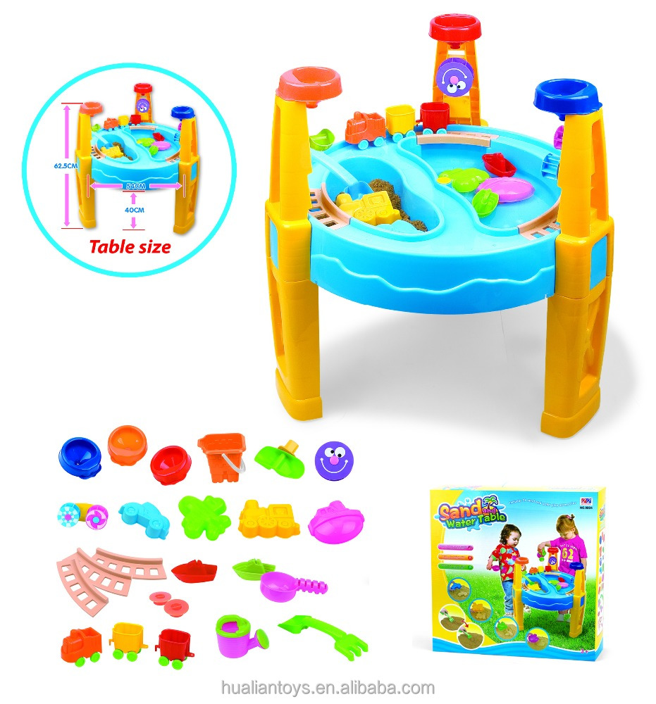 Fun and Perschool Plastic Beach Kids Toys Tool Set