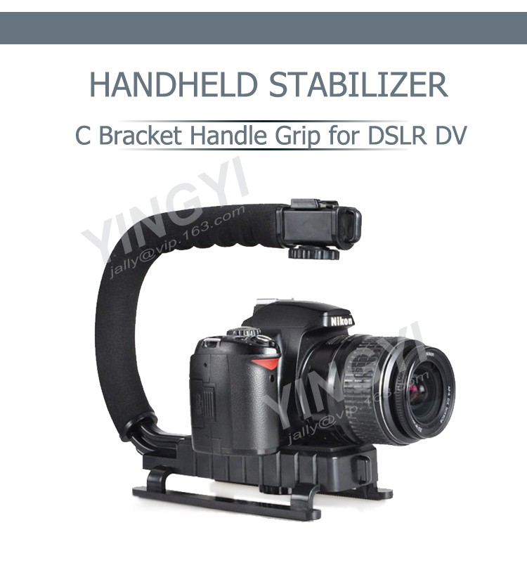 PC + ABS high quality dslr camera stabilizer